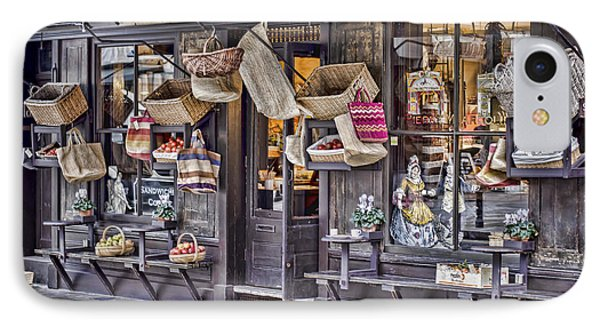 Baskets For Sale Phone Case by Heather Applegate