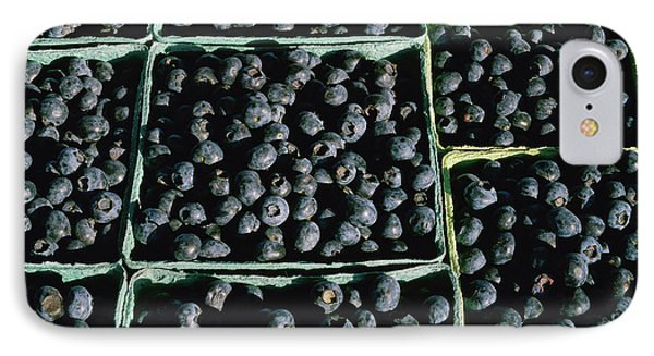 Baskets Of Blueberries IPhone Case by Panoramic Images
