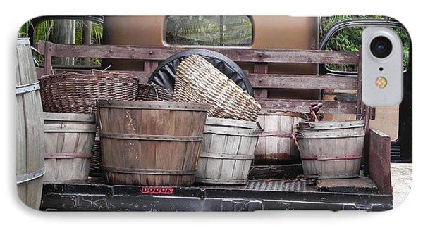 Baskets Of Feed Phone Case by Chrisann Ellis