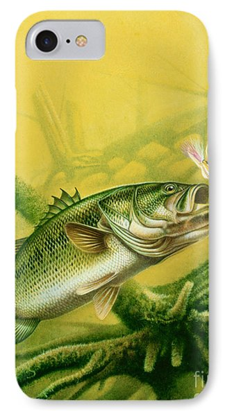 Bass And Jig Phone Case by jon Q Wright