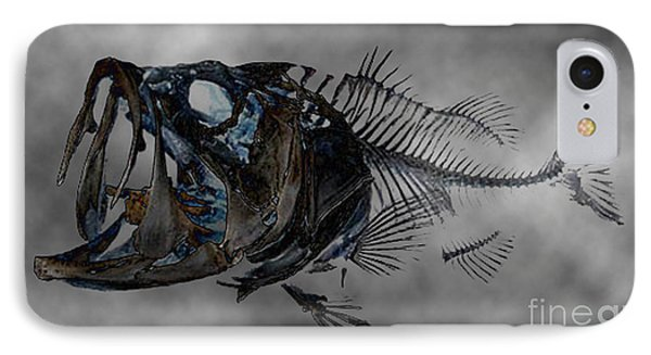 Bass Art IPhone Case by Tbone Oliver