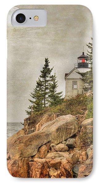 Bass Harbor Head Lighthouse. Acadia National Park IPhone Case by Juli Scalzi