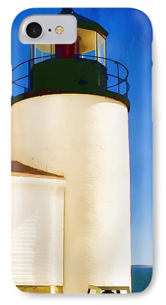 Bass Harbor Head Lighthouse Maine Phone Case by Carol Leigh