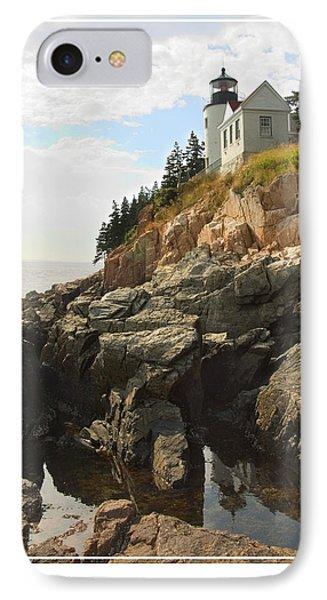 Bass Harbor Head Lighthouse Phone Case by Mike McGlothlen