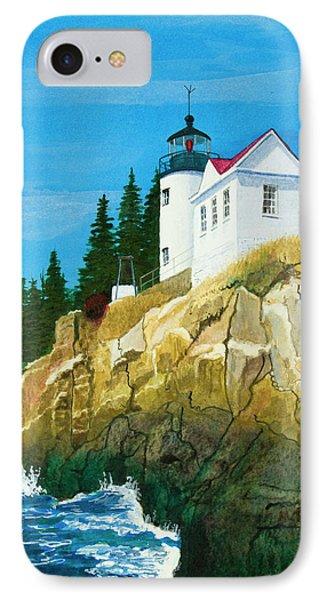 Bass Harbor Lighthouse IPhone Case