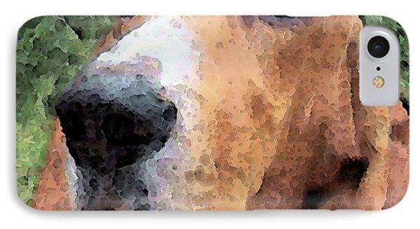 Basset Hound - Irresistible  Phone Case by Sharon Cummings