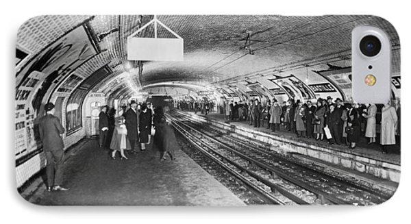 bastille Subway Station IPhone Case