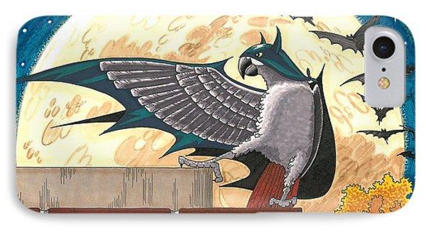 Bat Bird IPhone Case by Drisdan