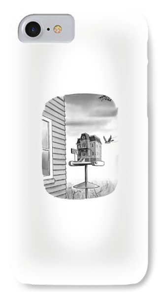 Bates Motel Birdhouse IPhone Case