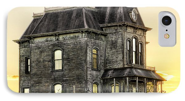 Bates Motel Haunted House Phone Case by Paul W Sharpe Aka Wizard of Wonders