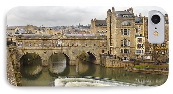 Bath England Spillway IPhone Case by Mike McGlothlen