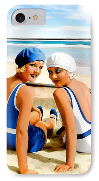 Bathing Beauties IPhone Case by Jann Paxton