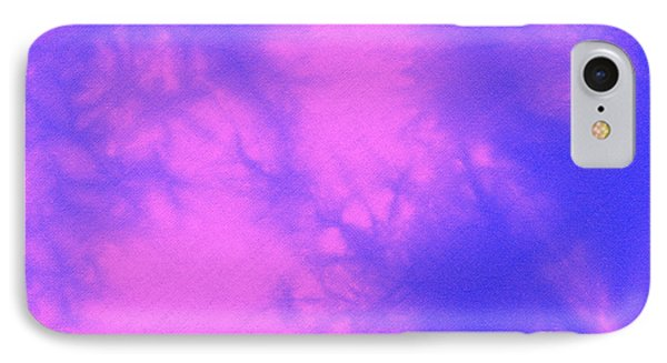 Batik In Purple And Pink Phone Case by Kerstin Ivarsson