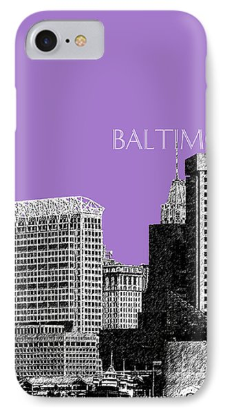 Batlimore Skyline IPhone Case by DB Artist