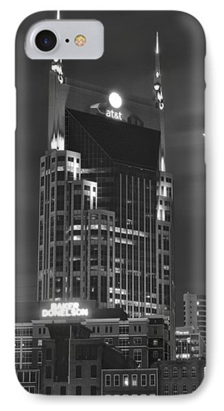 Batman Building Complete With Bat Signal IPhone Case by Frozen in Time Fine Art Photography