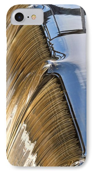 Batsto Waterfall Phone Case by Louise Reeves