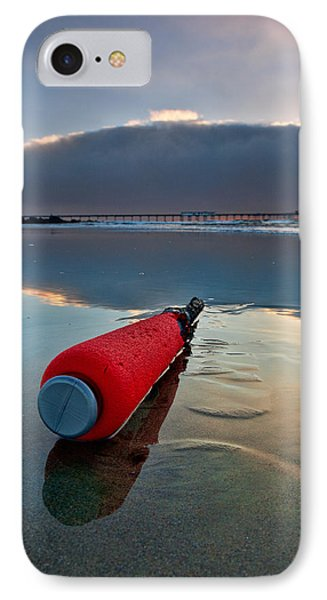 Batter-ed By The Sea IPhone Case