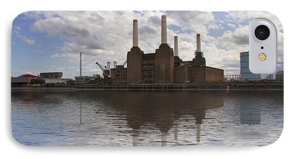 Battersea Power Station London IPhone Case by David French