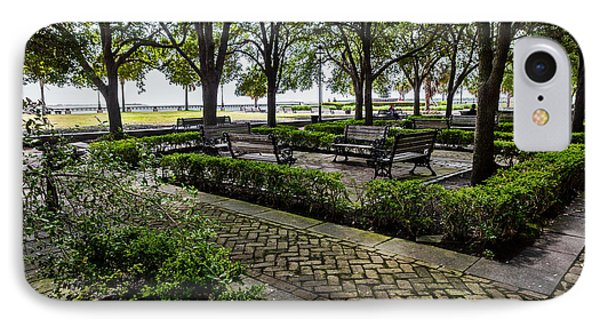 IPhone Case featuring the photograph Battery Park by Sennie Pierson