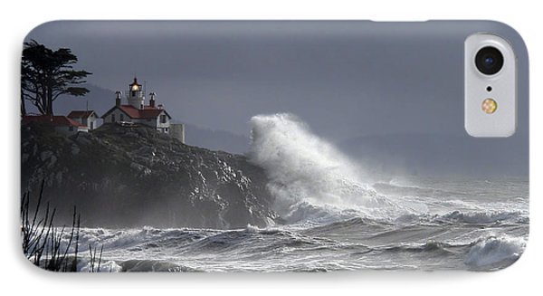 Battery Point Storm IPhone Case by Betty Depee