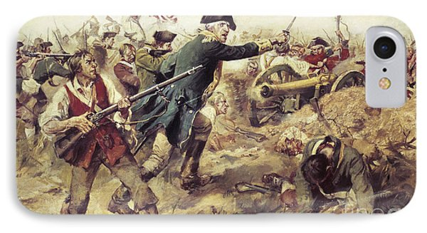 Battle Of Bennington IPhone Case by Frederick Coffay Yohn