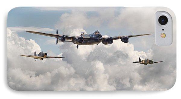 Battle Of Britain - Memorial Flight IPhone Case