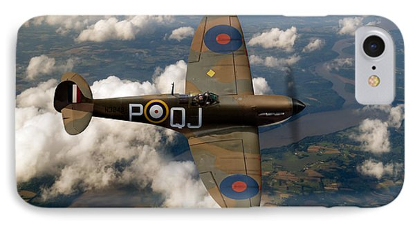 Battle Of Britain Spitfire Phone Case by Gary Eason
