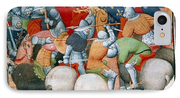 Battle Of Crecy IPhone Case