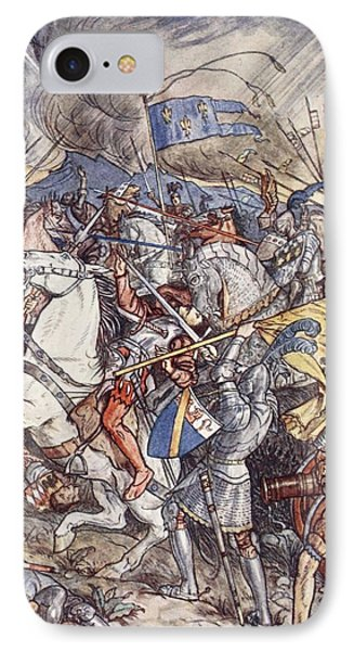 Battle Of Fornovo, Illustration IPhone Case