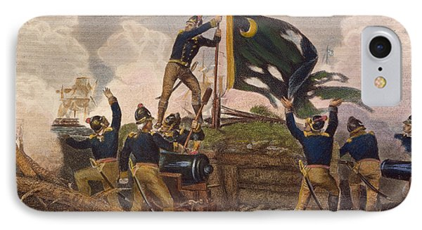 Battle Of Fort Moultrie IPhone Case