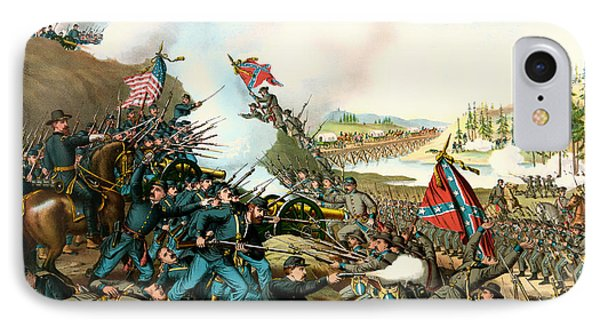 Battle Of Franklin Tennessee 1864 IPhone Case