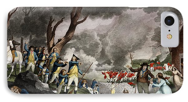 Battle Of Lexington, 1775 IPhone Case by Science Source
