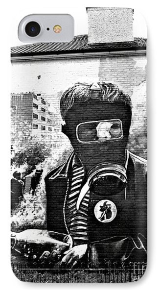 Battle Of The Bogside Mural IPhone Case