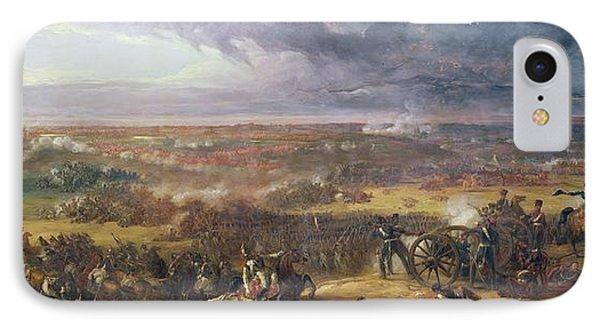 Battle Of Waterloo, 1815, 1843 IPhone Case by Sir William Allan