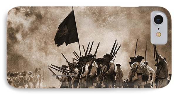 Battle Of Wyoming II Phone Case by Jim Cook