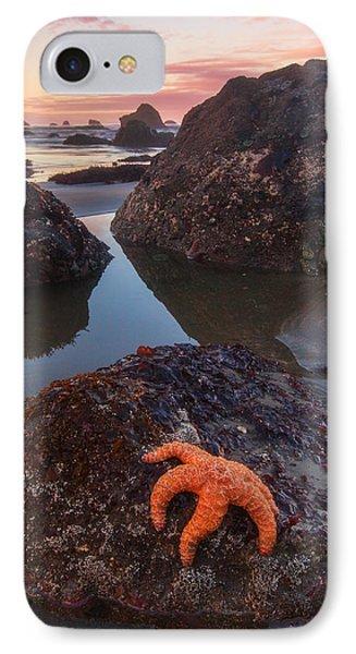 Battle Rock Sunrise IPhone Case by Darren  White