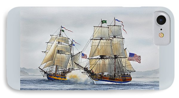 Battle Sail IPhone Case by James Williamson