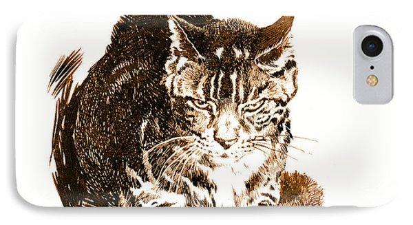 Battleship Cat 1898 IPhone Case by Padre Art