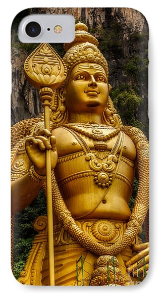 Batu Statue IPhone Case by Adrian Evans