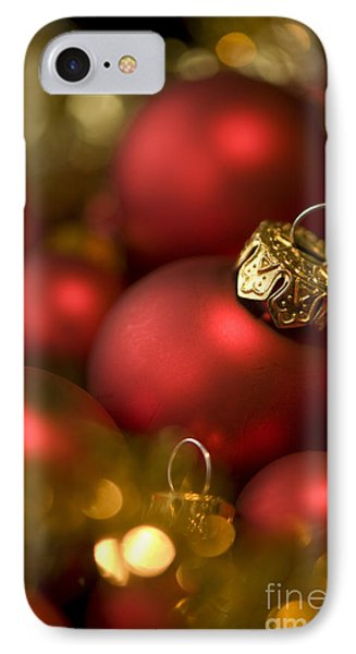 Baubles Phone Case by Anne Gilbert