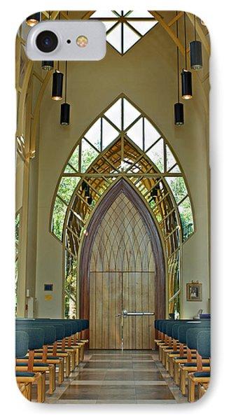 Baughman Meditation Center - Inside Front IPhone Case by Farol Tomson