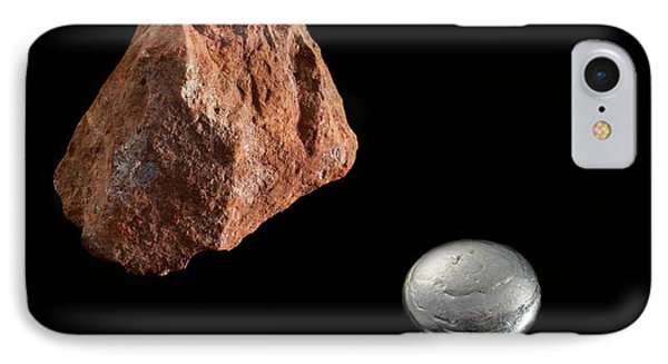 Bauxite And Aluminium IPhone Case by Science Photo Library