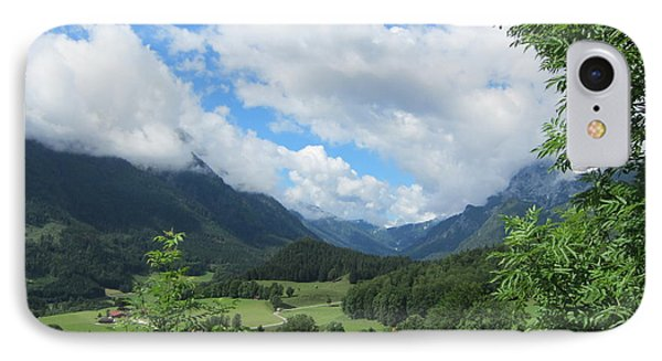 Bavarian Countryside IPhone Case