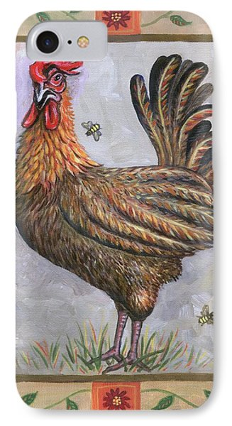 Baxter The Rooster Phone Case by Linda Mears