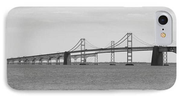 Bay Bridge IPhone Case by Allison Horan