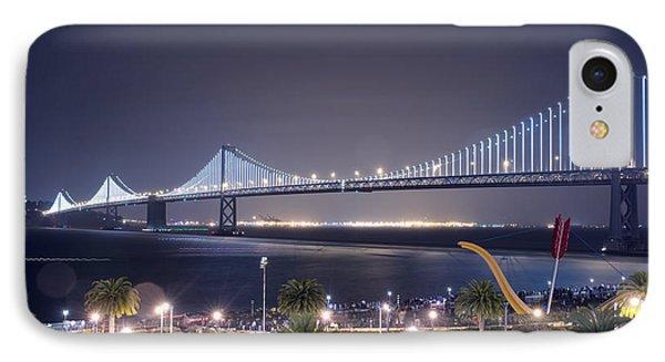 Bay Bridge Grand Lighting Ceremony IPhone Case