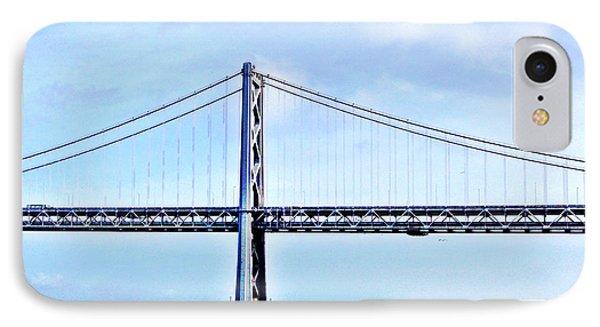 Bay Bridge IPhone Case by Julie Gebhardt