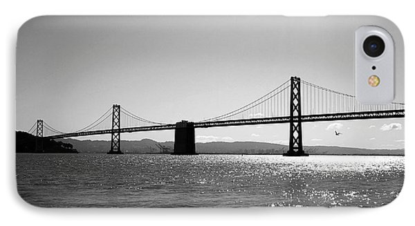 Bay Bridge Phone Case by Rona Black