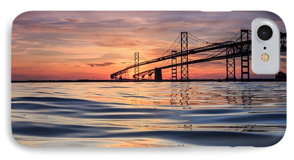 IPhone Case featuring the photograph Bay Bridge Silk by Jennifer Casey