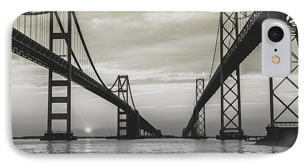 IPhone Case featuring the photograph Bay Bridge Strong by Jennifer Casey